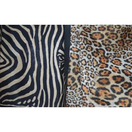 Tela y tapizado de piel